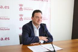 Joaquín Guerrero en rueda de prensa